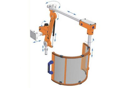 Safety Guards for Milling Machines 2FAB