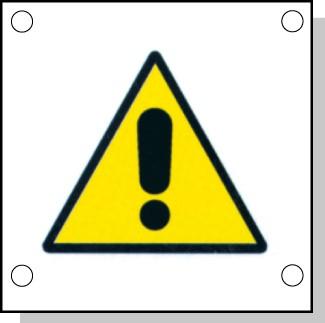 Cartelli pericolo rischi residui H