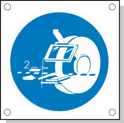 Cartelli pericolo rischi residui L