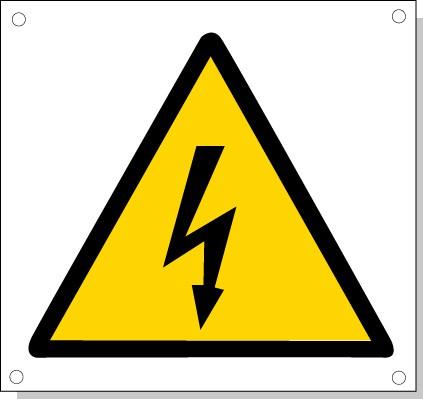 Cartelli pericolo rischi residui M