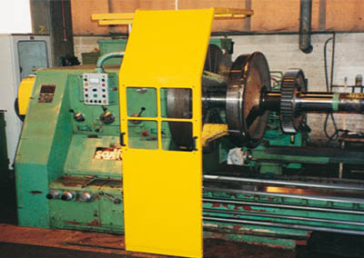 Safety Guards for Turning Machines 1 SPECIAL BIG LATHES
